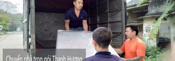 Dịch vụ chuyển nhà trọn gói giá rẻ Thanh Hương tại xã Hồng Sơn