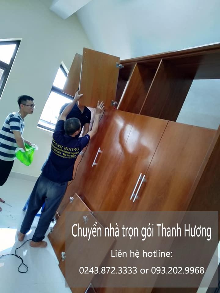 Chuyển nhà giá rẻ chất lượng Thanh Hương đường Trần Quang Khải