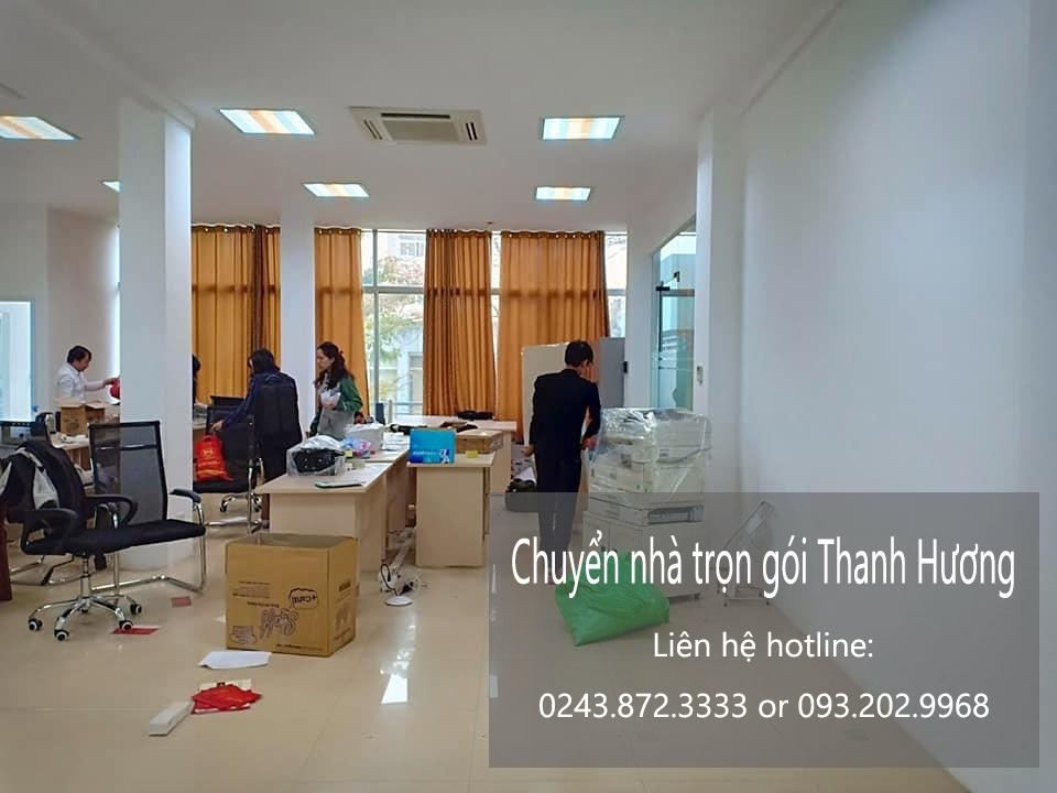 Dịch vụ chuyển nhà trọn gói giá rẻ tại phố Nguyễn Huy Tự