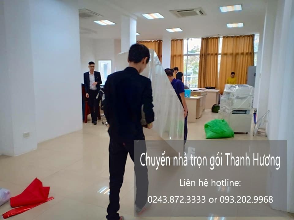Chuyển văn phòng trọn gói giá rẻ tại phố Hoàng Sâm