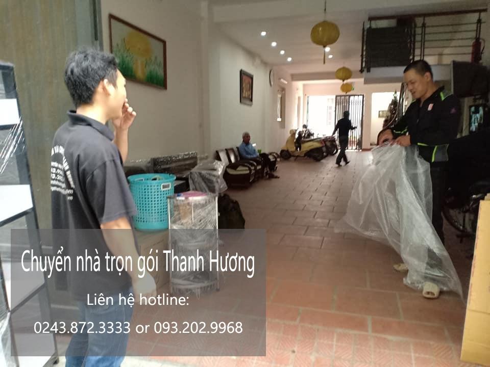 Dịch vụ chuyển nhà chất lượng Thanh Hương phố Bạch Mai