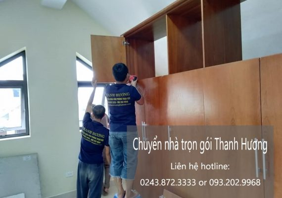 Dịch vụ chuyển nhà trọn gói giá rẻ tại xã Thụy Phú