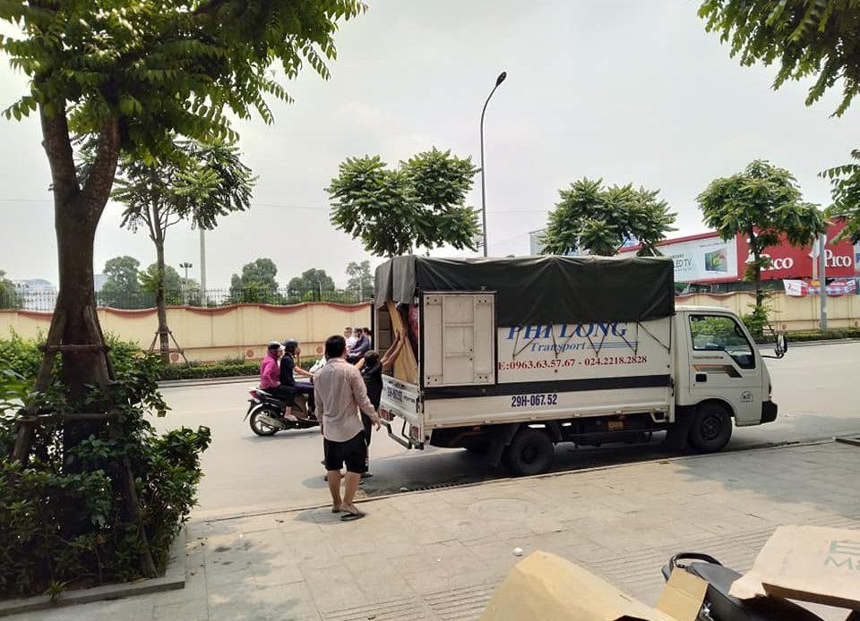 Dịch vụ chuyển nhà trọn gói giá rẻ Thanh Hương tại xã Quang Lãng