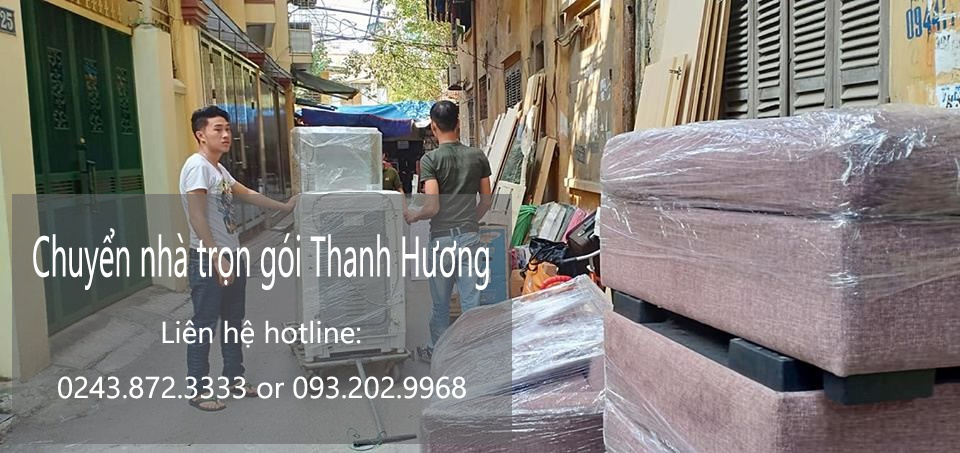 Dịch vụ chuyển nhà trọn gói giá rẻ Thanh Hương tại xã Sơn Hà