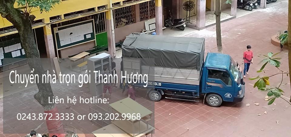 Dịch vụ chuyển nhà trọn gói giá rẻ tại đường Cương Kiên