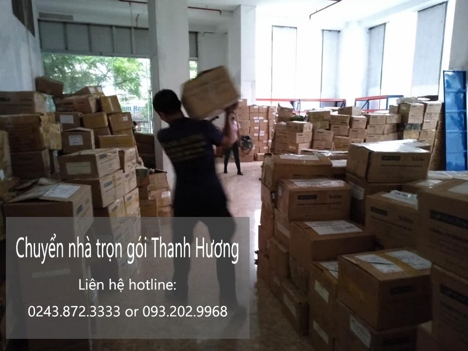 Dịch vụ chuyển nhà trọn gói giá rẻ tại đường Tây Trà