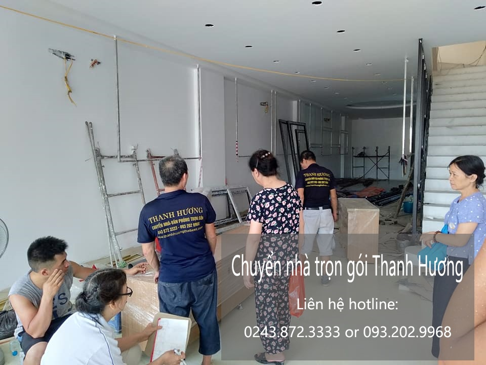 Dịch vụ chuyển nhà trọn gói giá rẻ tại phường phúc đồng