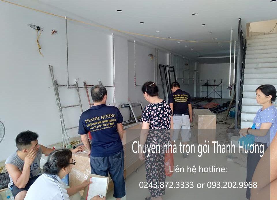 Dịch vụ chuyển nhà trọn gói tại phường long biên