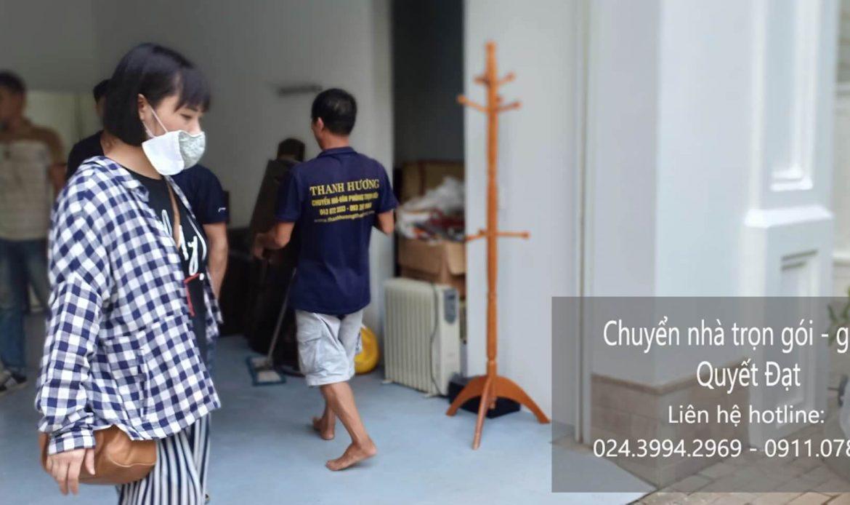 Dịch vụ chuyển nhà trọn gói giá rẻ tại đường vũ tông phan