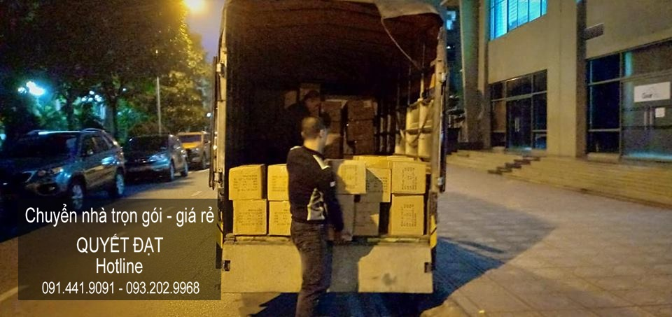 Dịch vụ chuyển nhà uy tín tại đường Phạm Văn Đồng