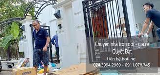 Chuyển nhà trọn gói giá rẻ tại phố Pháo Đài Láng