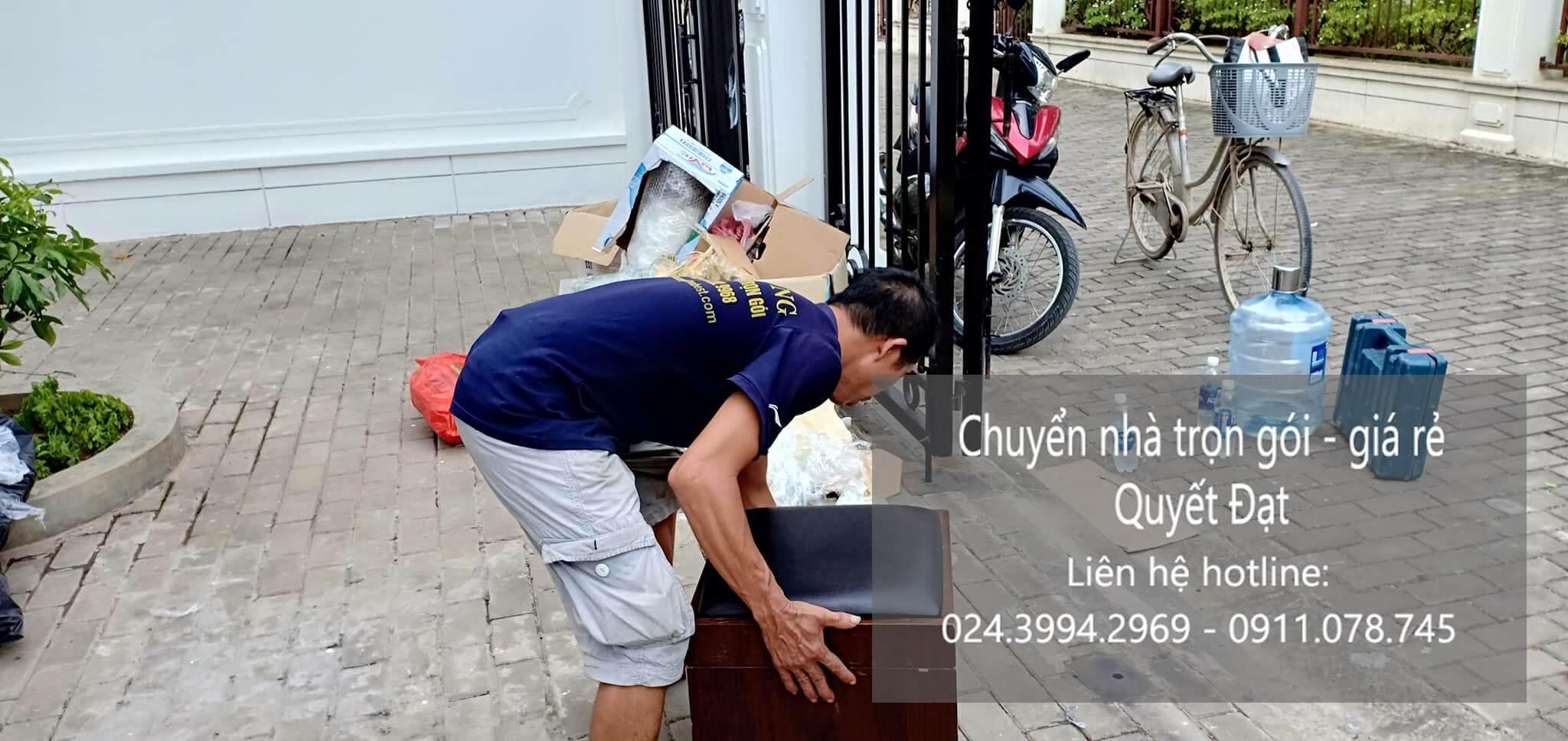 Dịch vụ chuyển nhà trọn gói tại đường Thạch Bàn