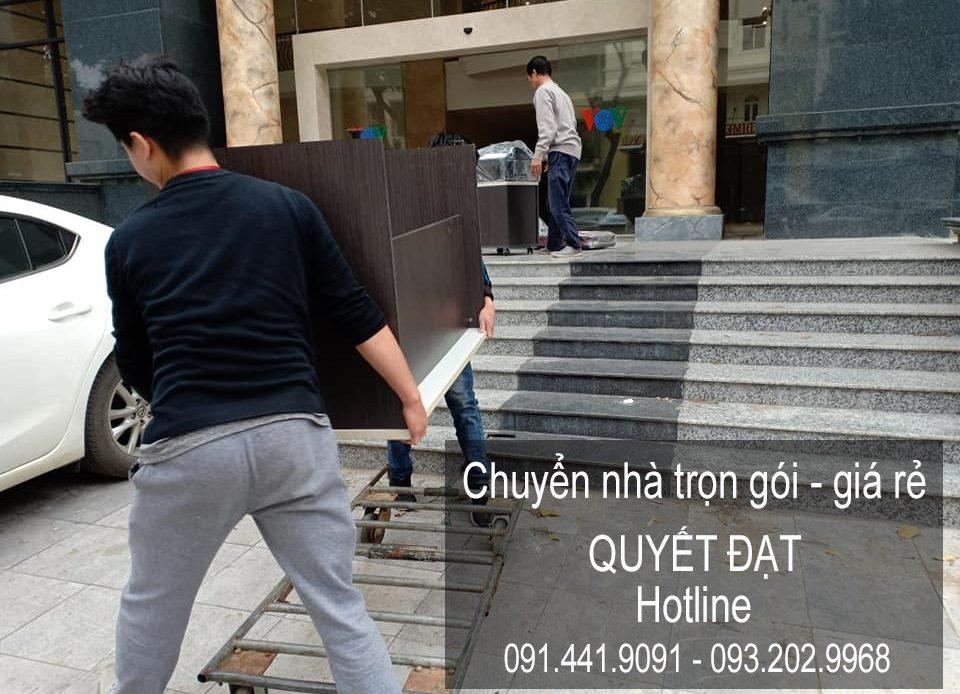 Dịch vụ chuyển nhà trọn gói tại đường gia thụy
