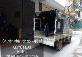 Dịch vụ chuyển nhà trọn gói giá rẻ tại phố Tư Đình