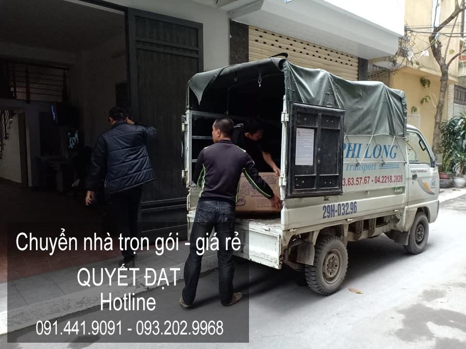 Dịch vụ chuyển nhà trọn gói giá rẻ tại đường Hội Xá