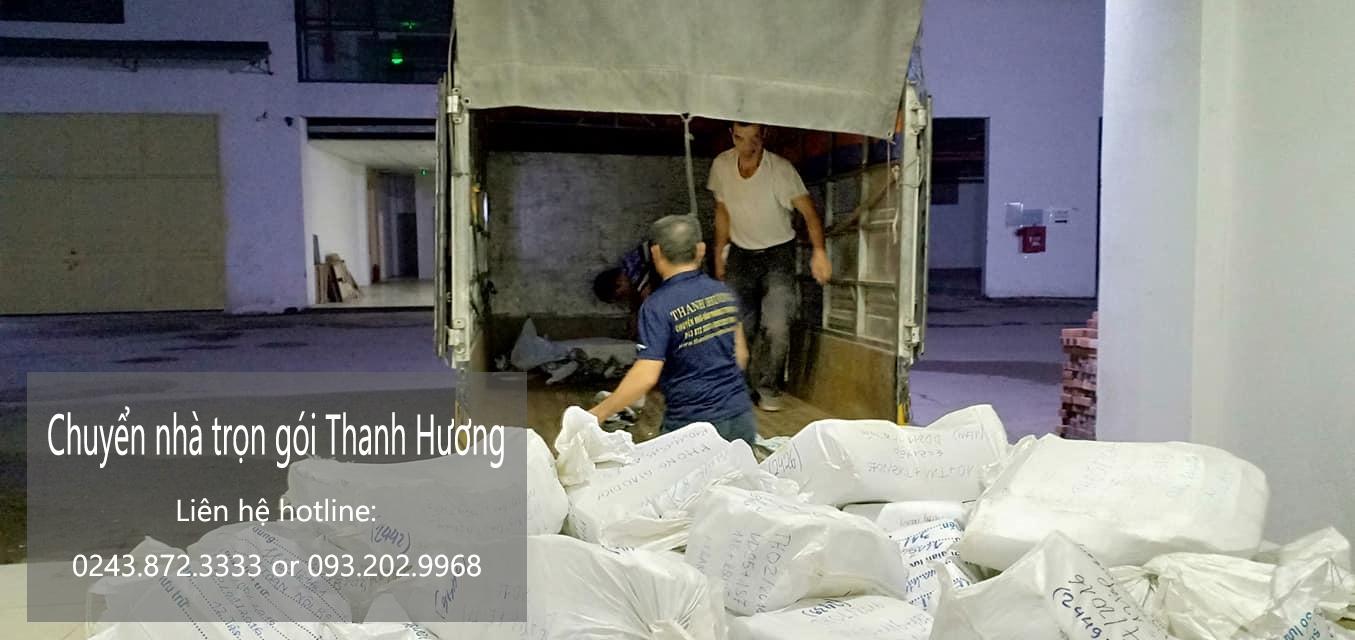 Dịch vụ chuyển nhà trọn gói tại đường Ngô Gia Tự