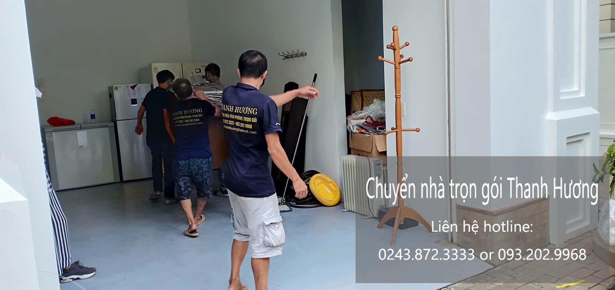 Dịch vụ chuyển nhà trọn gói tại phường Vĩnh Hưng