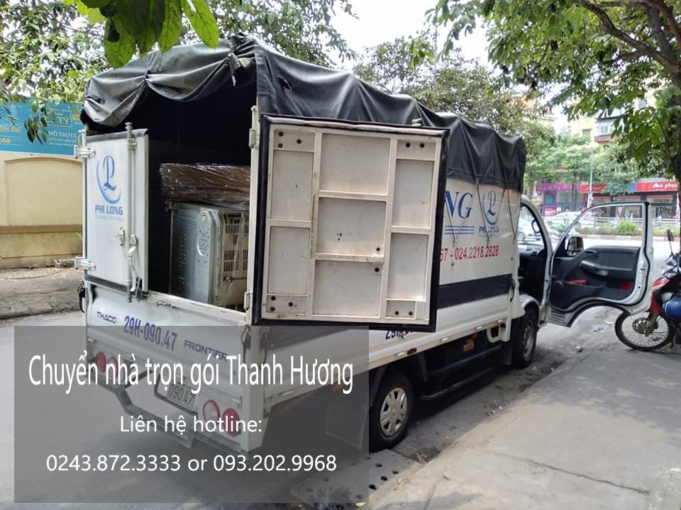 Dịch vụ chuyển nhà trọn gói thanh hương tại phố Sài Đồng