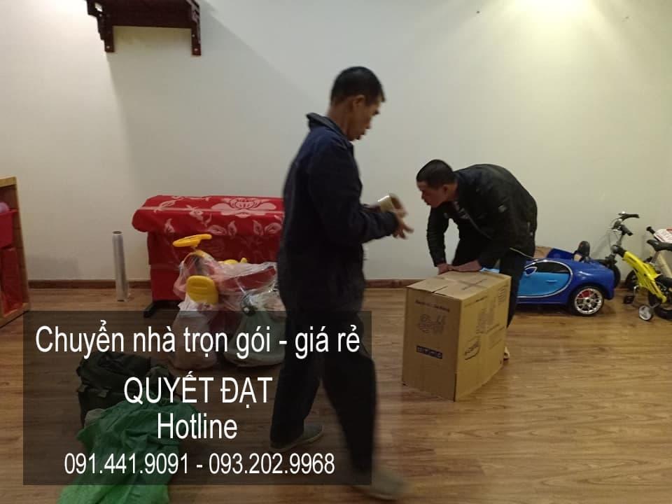 Dịch vụ chuyển nhà trọn gói giá rẻ tại đường Tam Trinh