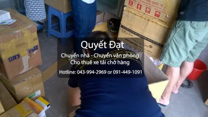 Dịch vụ chuyển nhà trọn gói giá rẻ tại đường Tân Mỹ