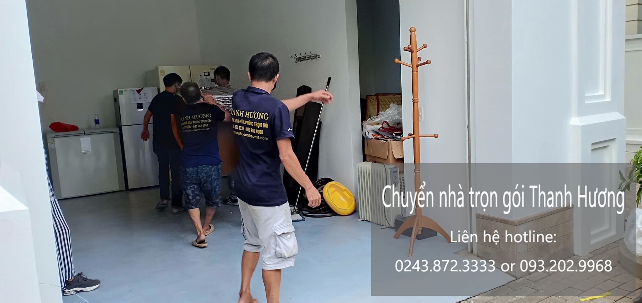 Chuyển nhà chất lượng Thanh Hương đường Tân Thụy