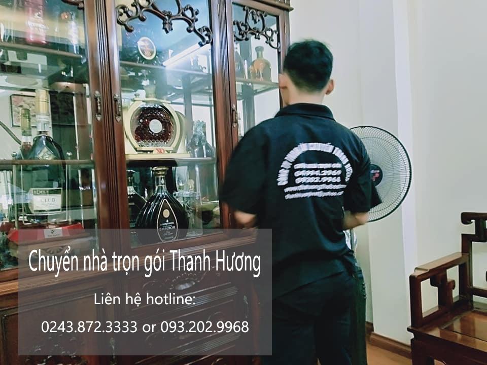 thue xe tai chuyển nhà Thanh Hương tại khu đô thị Ciputra