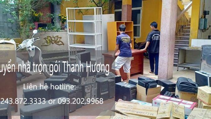 Taxi tải chuyển nhà giá rẻ uy tín Thanh Hương tại phố Bùi Huy Bích