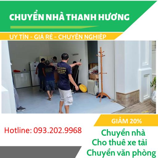 Thanh Hương dịch vụ chuyển nhà trọn gói chuyên nghiệp tại Hà Nội.