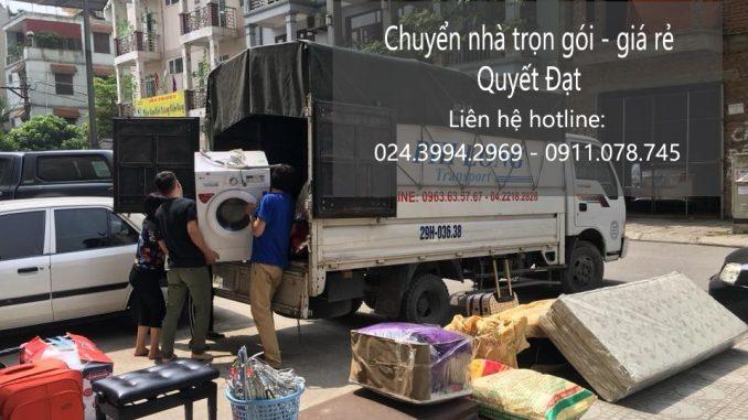 Chuyển nhà trọn gói phố Hàn Thuyên đi Hòa Bình