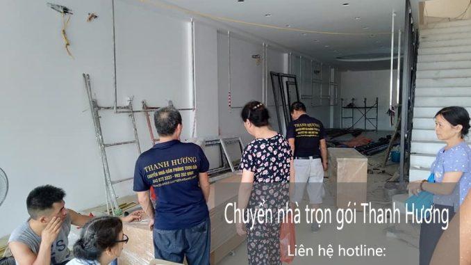 Chuyển nhà trọn gói giá rẻ phố Thanh Hà đi Hòa Bình