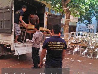 Chuyển nhà trọn gói giá rẻ phố Đinh Công Tráng đi Quảng Ninh